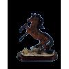 Statue cheval cabré 17cm