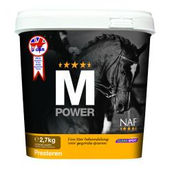 M Power - Muscles cheval - Naf