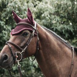 Bonnet anti-mouche cheval Wellington Corduroy 42121 - Kentucky - Equestra