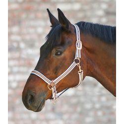 Licol cheval rosé shine - Waldhausen - Equestra
