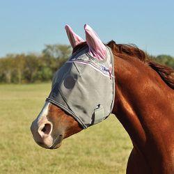 Masque anti-mouche cheval Crusader Color avec oreilles - Cashel - Equestra