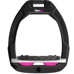 Etriers Safe-On Flex-On Noir personnalisable - Flex-On