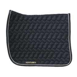 Tapis de selle matelassé dressage - Kentucky