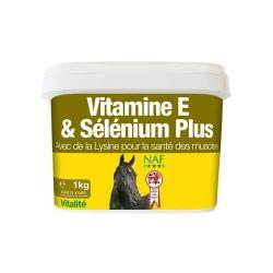 Vitamine E et selenium plus - soutien musculaire - Naf