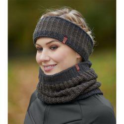 Tour de tête tricoté femme double polaire Cami Elt