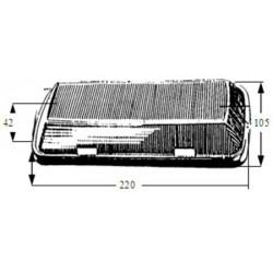 Plafonnier modèle renforcé