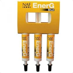Ener G Shots - Energie au travail - seringue x3 - Naf