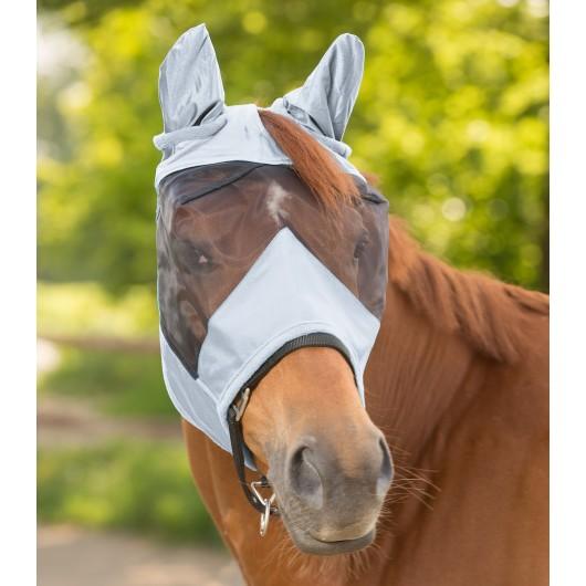 Masque anti-mouches anti-UV avec oreilles Premium - Waldhausen