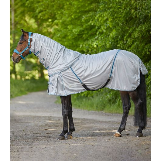 Chemise anti-mouches cheval couvre-cou amovible Protect - Waldhausen