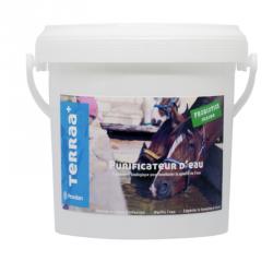 Purificateur d'eau abreuvoir cheval Terraa+ seau 1kg - Galowade