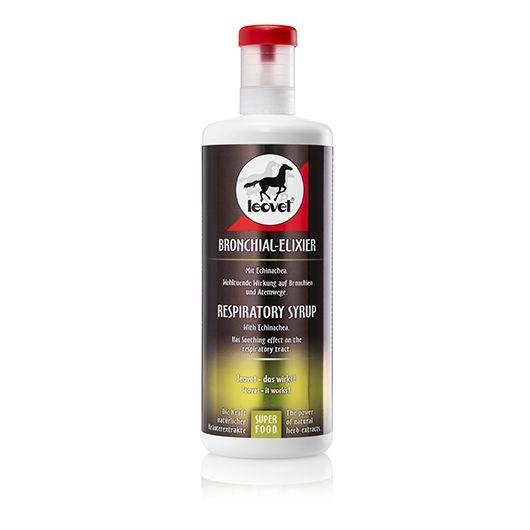 Complément respiratoire chevaux 1L Bronchial Elixir - Leovet