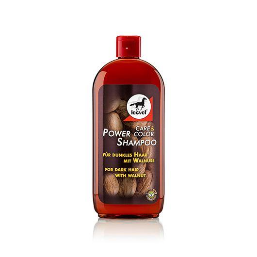 Shampoing chevaux brou de noix 500 ml Super Force - Leovet
