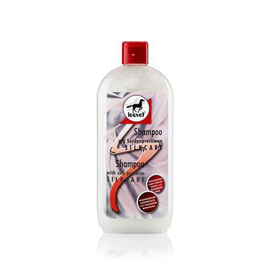 Shampoing cheval protéines de soie 500 ml Silkcare - Leovet