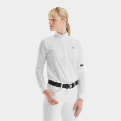 Chemise de concours femme manches longues Design - Horse Pilot