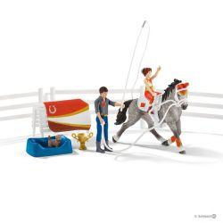 Kit de voltige équestre Horse Club Mia - Schleich