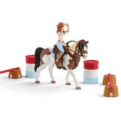 Kit d'équitation western Horse Club d'Hannah  - Schleich