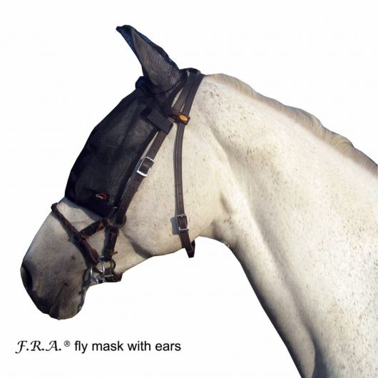Masque anti-mouche cheval de travail avec oreilles - Cavallo