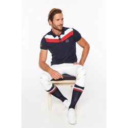 Polo Homme manches courtes Vicking Rider France - Harcour
