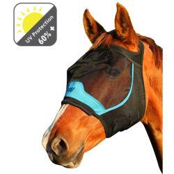 Masque anti-mouche anti-uv cheval sans oreilles - Woof Wear