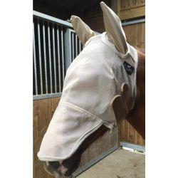 Masque anti-mouche et anti-UV cheval avec oreilles Fly Mask - Professional Choice