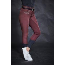 Pantalon d'équitation Femme fond grip Unita H20 - Harcour