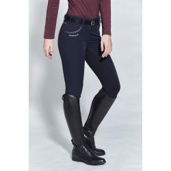 Pantalon d'équitation Femme Fond grip Angélique H20 - Harcour
