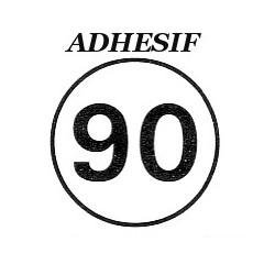 Disque limitation 90 km/ adhésif