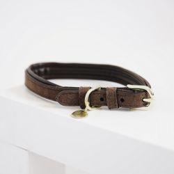 Collier chien Velvet Leather - Kentucky