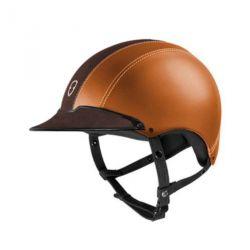 Casque équitation Epona cuir personnalisable Egide - Equestra