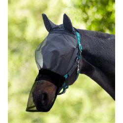 Masque anti-mouche cheval intégral pour licol Premium - Waldhausen