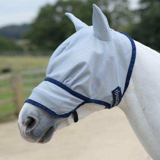 Masque anti-mouche et anti-uv cheval Buzz off intégral - Bucas