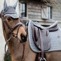 Tapis de selle cheval en velours Velvet Basic - Kentucky