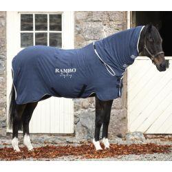 Chemise séchante cheval microfibre avec couvre-cou Rambo dry - Horseware