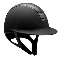 Casque équitation Miss Shield Premium (chrome noir) - Samshield