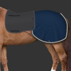 Couvre reins cheval personnalisable Mer-System - Mattes