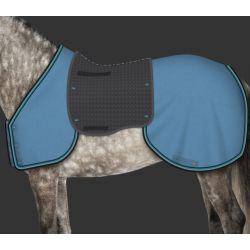 Ensemble couvre reins et poitrail cheval personnalisable Mer-System - Mattes
