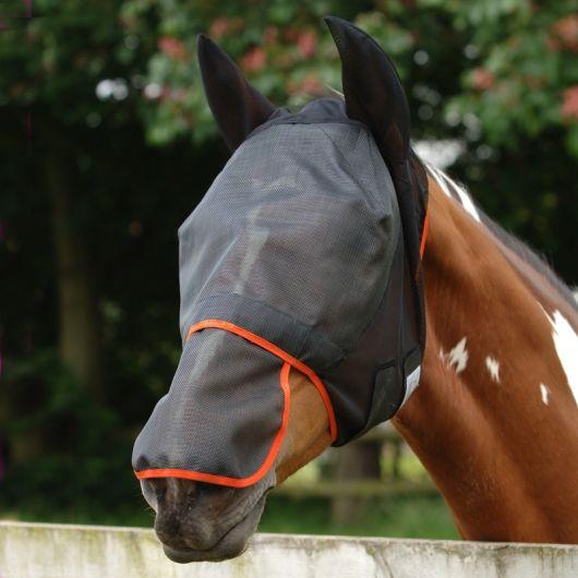 Masque anti-mouche anti-uv cheval intégral Max - Equilibrium