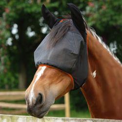 Masque anti-mouche anti-uv cheval avec oreilles Midi - Equilibrium