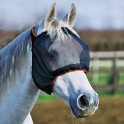 Masque anti-mouche anti-uv cheval sans oreilles Midi - Equilibrium