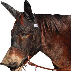 Masque anti-mouche de travail intégral Mule/âne Quiet Ride - Cashel
