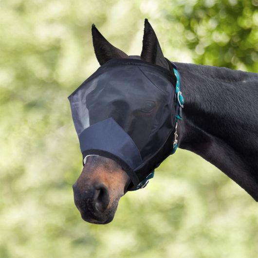 Masque anti-mouches cheval sans oreilles Happy Ears - Waldhausen