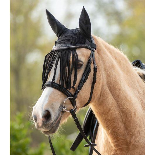 Bonnet anti-mouche cheval à franges - Waldhausen