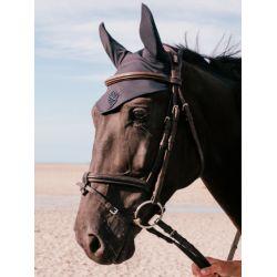 Bonnet anti-mouche cheval Janga - Gaze