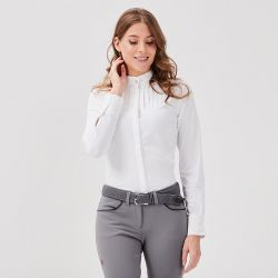 Chemise de concours manches longues Femme Jacandra - Gaze
