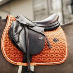 Tapis de selle cheval Velvet - Kentucky