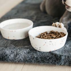 Gamelle pour chien Bamboo Terazzo - Kentucky Dogwear