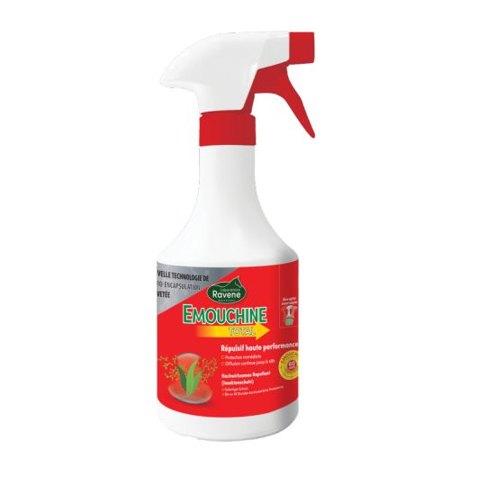 Emouchine Total Innovation - Spray anti-mouche cheval - Ravene
