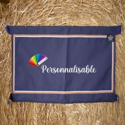Porte de box cheval en tissu personnalisable - Paddock Sports