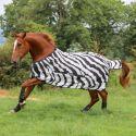 Chemise anti-mouche cheval Buzz off Zebra couvre cou détachable - Bucas