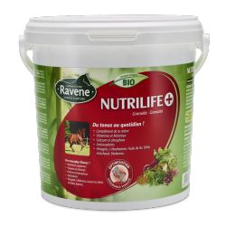 Complément vitalité granulés 2.7 kg Nutrilife +